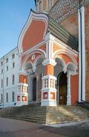 portaal van voorbede kathedraal, izmailovo landgoed, moskou, rusland foto