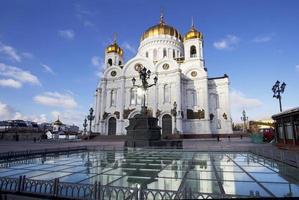 Moskou. de kathedraal van Christus de Verlosser.