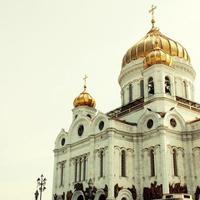 Christus de redderkerk in Moskou, Rusland. foto