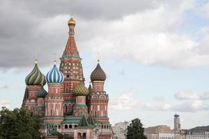 Sint-Basiliuskathedraal - Moskou foto