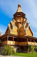 houten kerk foto
