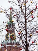 spasskaya toren op het Rode plein