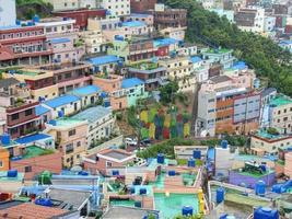 gamcheon cultuurdorp, busan, zuid-korea foto