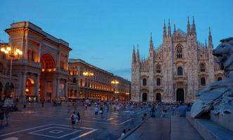 Piazza del Duomo, Milaan foto