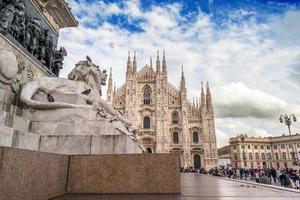 Piazza del Duomo van Milaan