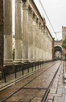 "milan (italië): ""san lorenzo"" kolommen foto"