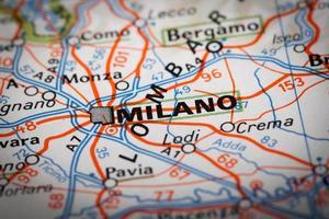 Milaan stad foto