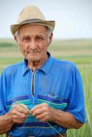 de oude boer foto