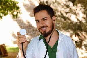 mannelijke arts foto