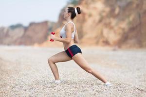 vrouwelijke fitness foto