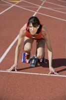 vrouwelijke atleet foto