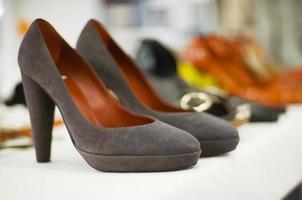 vrouwelijke schoenen foto
