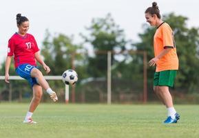 vrouwelijk voetbal foto