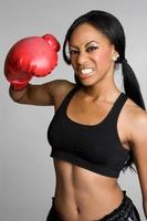 vrouwelijke bokser foto