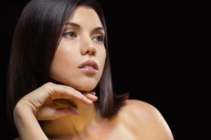sensueel vrouwelijk portret foto