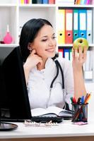vrouwelijke dokter foto