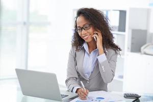 vrouwelijke ondernemer foto