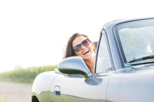 vrouwelijke roadtrip