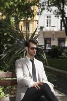 modern zakenmanportret foto