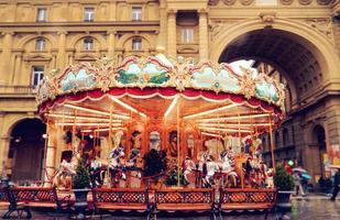 carrousel en verlichting foto