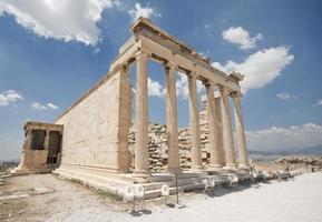 oude tempel van Athene foto