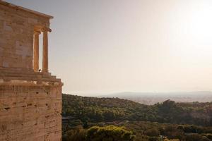 tempel van athena nike foto
