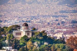 ethniko asteroskopio athinon in Athene, Griekenland foto