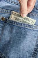 geld opnemen foto