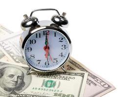tijd en geld foto