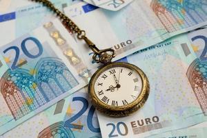 tijd is geld foto