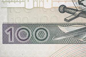 honderd Poolse zloty foto