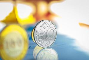 fifty tenge - kazachstan geld foto