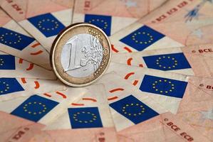 een euro foto