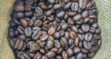 koffie achtergrondzak foto