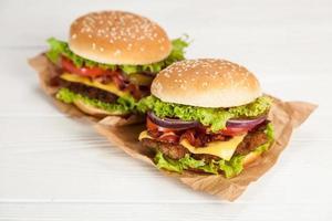 heerlijke hamburger