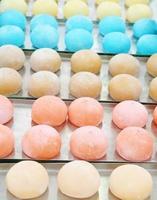 kleurrijk broodje foto