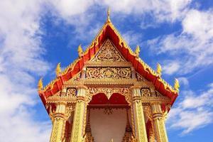 tempel wat Thais foto