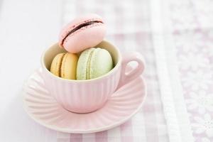 macarons foto