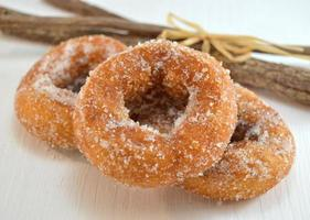 wijn donuts foto