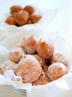 gebakken donuts foto