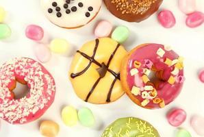 zoete donuts foto