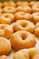 zelfgemaakte donuts foto