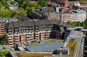 europees gebouw in hamburg foto
