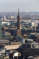 Hamburg Duitsland van bovenaf