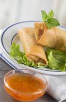 Aziatisch eten, foto