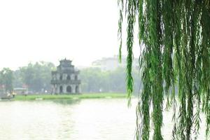 Hoan Kiem Lake in Hoani foto