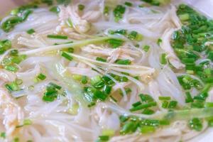 vietnam noodle foto