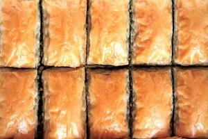 Turkse baklava foto