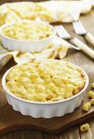 pasta gebakken met kaas foto