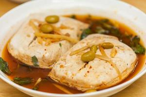 stinkende tofu (臭豆腐) foto